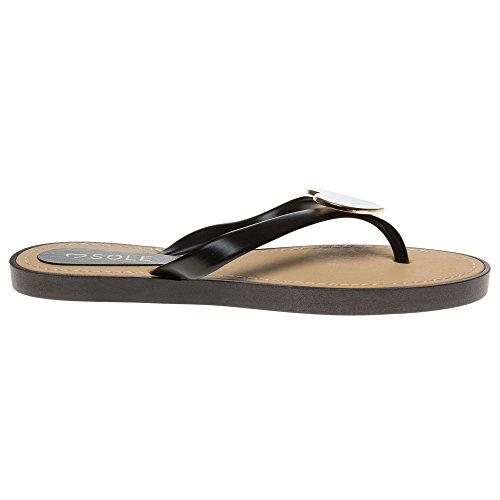 Black Sole Faros Sandals Sole Faros Black wqvXSvx