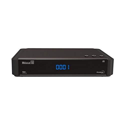 MEOSAT Receptor satélite HD + Tarjeta FRANSAT + Cable HDMi