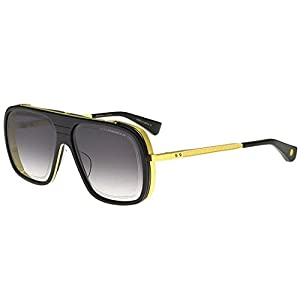 Sunglasses Dita ENDURANCE 79 DTS 104 01 Black-Yellow Gold w/ Dark Grey to Clear-