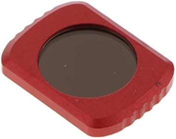 FLAMEER 4枚セット ND8+ND16+ND32+ND64フィルター DJI OSMO Pocketカメラ用 アルミ合金