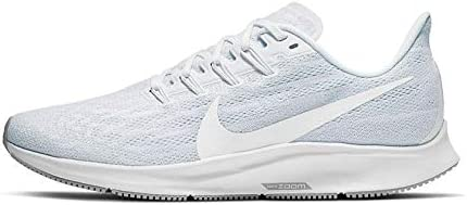 Nike Men s Air Zoom Pegasus 36 Track Field Shoes, White White Half Blue Wolf Grey, 11 D US
