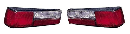 87 88 89 90 91 92 93 Ford Mustang LX Taillight Lens Only Pair Set Both Driver and (Mustang Tail Lamp Housing)