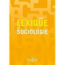 Lexique de Sociologie 5e Éd.