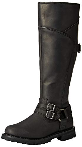 Harley-Davidson Women's Lomita Motorcycle Boot Black 8.5 M US