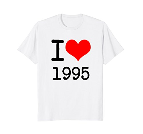 Mens I Love 1995 T Shirt - 90s Clothing Large - In Cool Was What The 90s