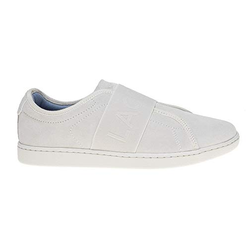 Carnaby Blanc Slip Baskets Femme Blanc Evo Lacoste Mode vq1TT