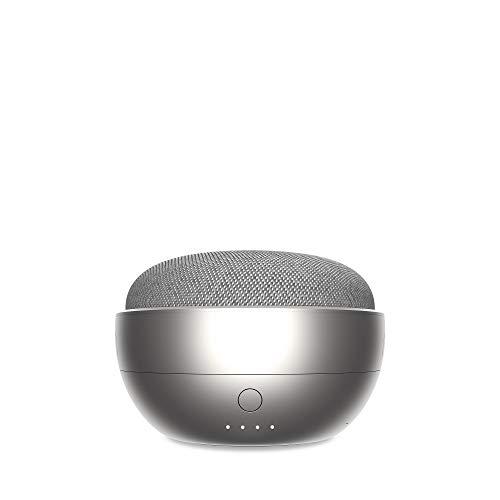 JOT Portable Battery Base for Google Home Mini (Silver)