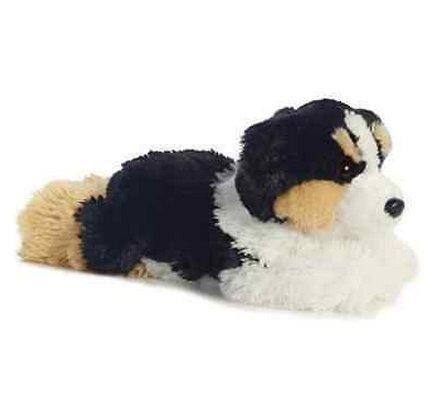New Arrival Australian Shepherd Dog Plush Stuffed Animal Toy 12
