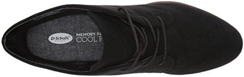 Dr. Dr. Scholl's Shoes Women's Turning Boot Black Microfiber Zapatos De Giro De Microfibra Negro De Arranque De Las Mujeres Del Scholl Barato 100% Auténtico Descuento de alta calidad Vq2E3P72f
