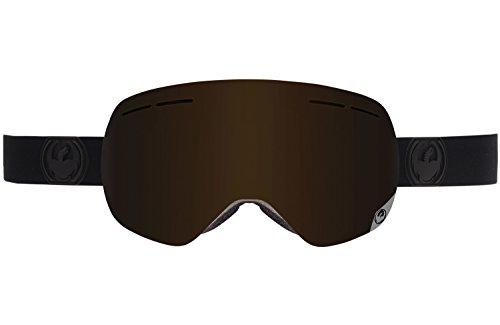 Dragon Alliance X1S Ski Goggles, Knight Rider/Dark ()