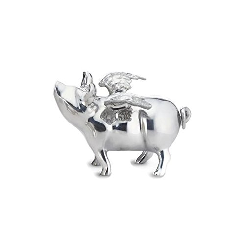 Lunares - Flying Pig Bank - Silver by Lunares Home