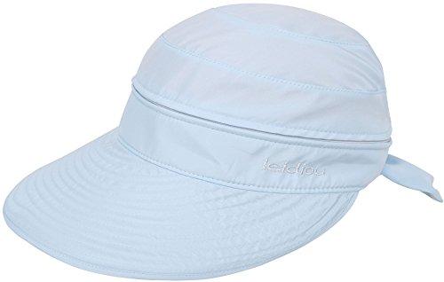 Simplicity Women's UPF 50+ UV Sun Protective Convertible Beach Hat Visor Blue by Simplicity