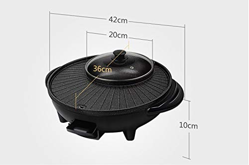 Maifan Stone Korean Hotpot with Grill by BXB | Multi-Function Non-Stick Bottom Electric Cooker | Shabu Shabu and Grill Multi-Cooker by SHOPBXB (Image #5)