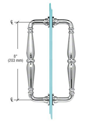 8 inch shower door handle - 9