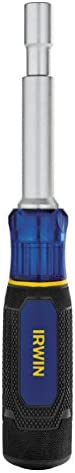 IRWIN 2013288 6-in-1 Nut Driver, Metric, 1948777, Blue