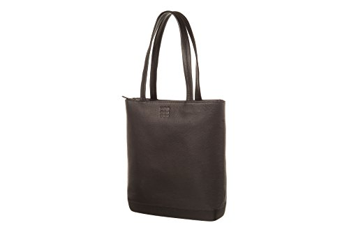 Moleskine Classic Leather Tote Bag, Black by Moleskine