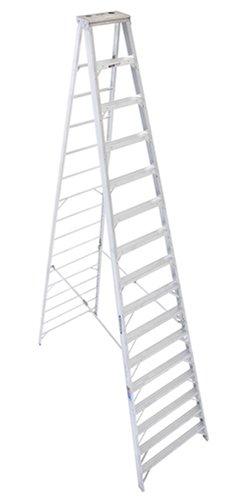Werner 416 300-Pound Duty Rating Type IA Aluminum Stepladder, 16-Foot (Ladder 16 Ft Step)