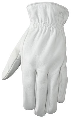 Wells Lamont Work Gloves with Pearl Grain Goatskin Driver Glove with Palm Page