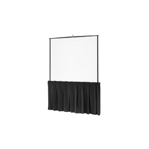 Da-Lite Black Tripod Skirt Black Tripod Skirt for 50