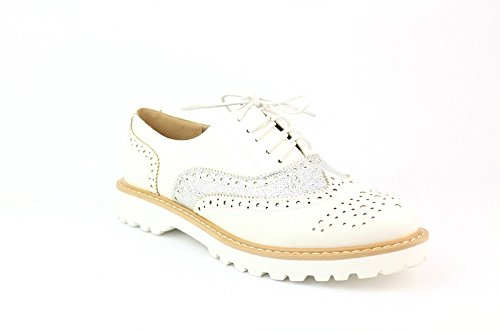 Bluebberry Derbies Olivia Blanc T39
