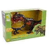 Animal Planet Prehistoric Dino Valley Playset - Pterodactylus, Suchomiimus and Baby T-Rex offers