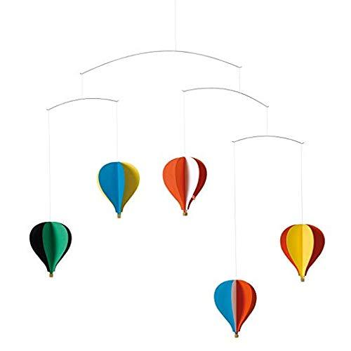 hot air balloon mobile - 7