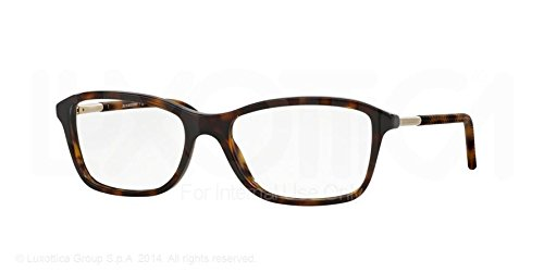 Burberry Eyeglasses BE2174 3002 Dark Havana 53 16 140 by BURBERRY