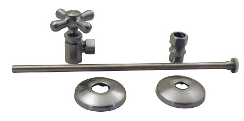 Supply Classics Stops Elizabethan - Elizabethan Classics NTLTS01SN Closet Angle Supply Kit, Satin Nickel