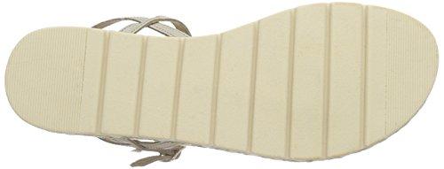 Leather Sandal Vero Beige Mujer Beige de Moda Vmsiwi Gladiador Sand Sandalias Warm EqqpHW
