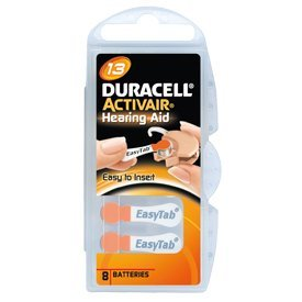 Duracell Activair Hearing Aid Batteries: Size 13 (80 Batteries) Living & Safety Aids at amazon