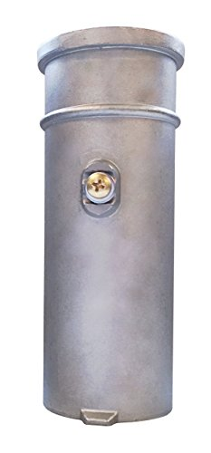S.R. Smith AS-100D-SS Residential 6-Inch Stanchion Anchor, Stainless Steel, 1.90