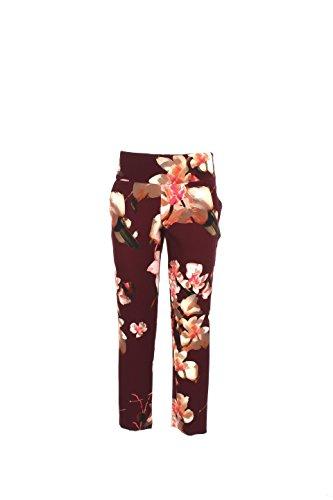 Pantalone Donna Atos Lombardini 40 Bordeaux P04035 Autunno Inverno 2016/17
