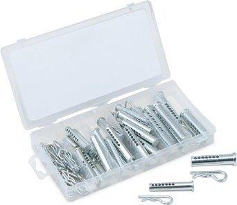 Cal Hawk Tools CZCP74 74 Piece Universal Clevis Pin Assortment
