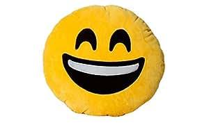 Emoji Pillow - Happy Face Yellow