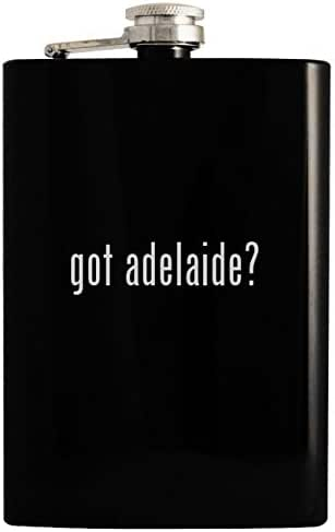 got adelaide? - 8oz Hip Drinking Alcohol Flask, Black