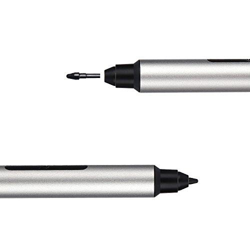 Surface Stylus Pen Digitizer 1024 Touch Pressure For Microsoft Surface Pro 4, Surface Pro 3, Surface 3, Surface Book ,New Surface Pro 2017, Surface Laptop Studio,ASUS Transformer 3 (Sliver) by Elextako (Image #2)