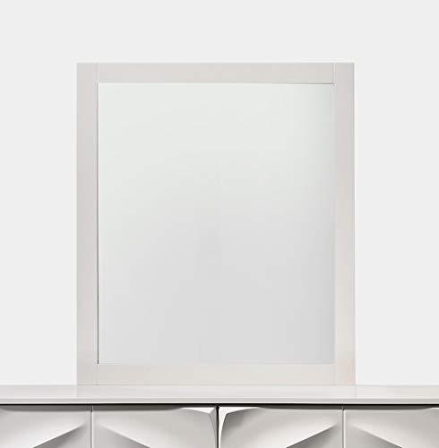 Milan MIR Capri Mirror, White