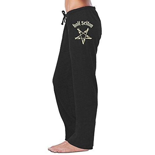 Hail Seitan Go Vegan Womens Yoga Jogger Pants