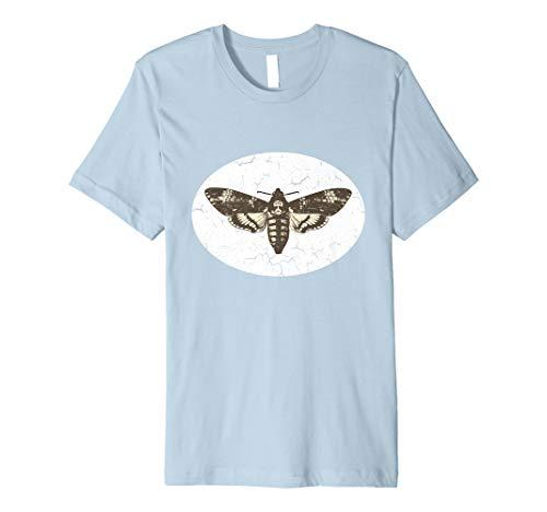Vintage Style Death's Head Hawk Moth Premium - Death Tee Head