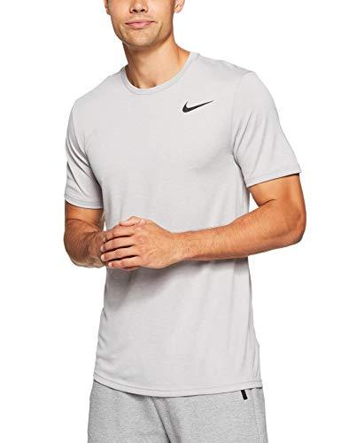 Ss Nk Hpr shirt T Dry Nike M Grigio Uomo Brt BUwOx6KgRq