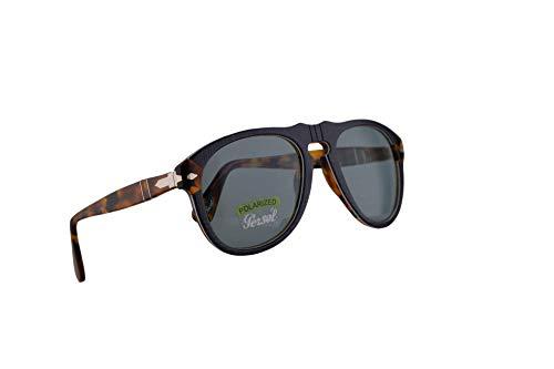 2948e318f9e7a Persol 649 Sunglasses P.Galles Blue w Polarized Blue Lens 52mm 10903R PO  0649 PO0649 PO649