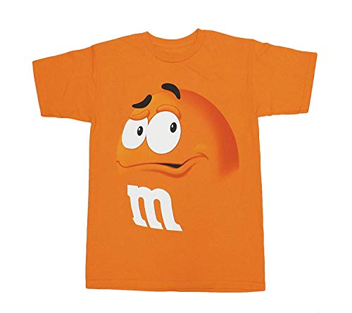 M&M M&M's Candy Silly Character Face T-Shirt (X-Small,