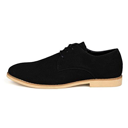 Zapatos ocasionales de verano/Corte de corriente bajo hombres zapatos Negro