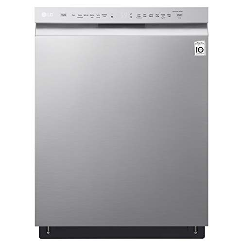 """LG LDF5545BD 24"""" Front Control Dishwasher with"""
