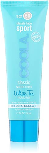 COOLA Suncare Classic Sport Face SPF 50 Sunscreen, White Tea, 1.7 fl. oz.