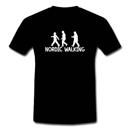 """T-Shirt """"Die Olsenbande-Nordic Walking"""" M-XXL"""