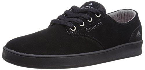 Emerica Unisex - Adulto 6102000082 scarpe sportive Nero/Nero/Nero