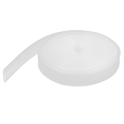 uxcell 8mm 2:1 Clear Heat Shrinkable Tube Shrink Tubing Wire Sleeve 5 Meter