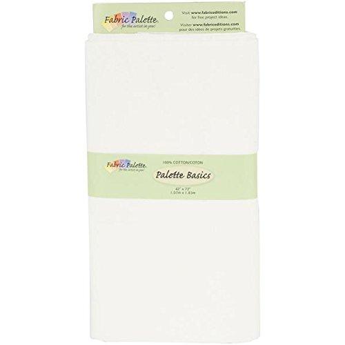 Fabric Editions 2-Yard Pre-Cut Fabric Palette, 42 by 72-Inch, Off White MD-G-2YD-CTN5