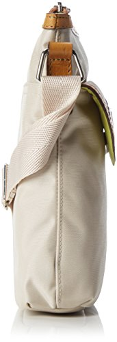 Bogner Damen Erina Umhängetasche, 5x24x27 cm Beige (Shell)